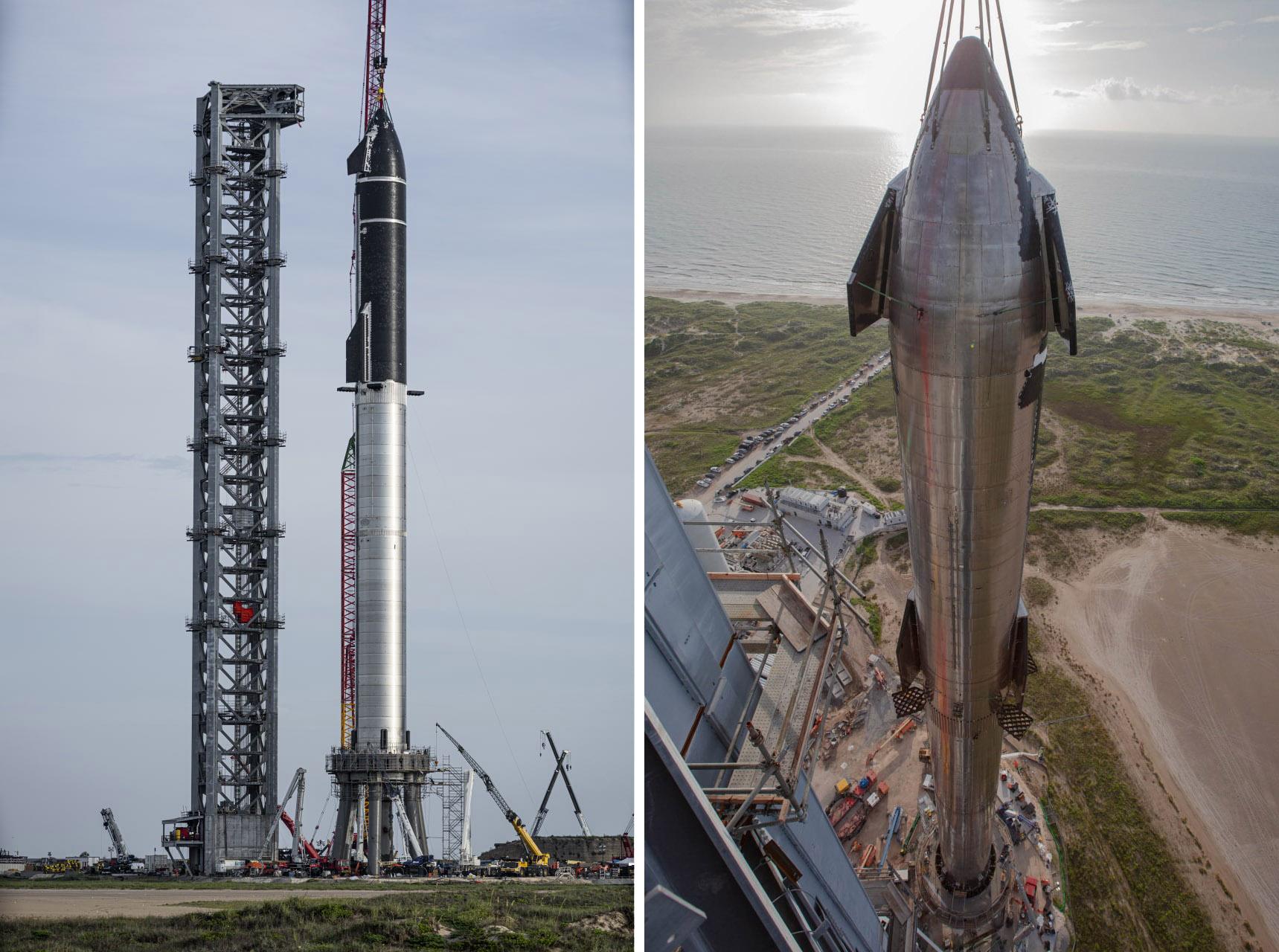 Компания SpaceX собрала самую большую в истории космонавтики ракету