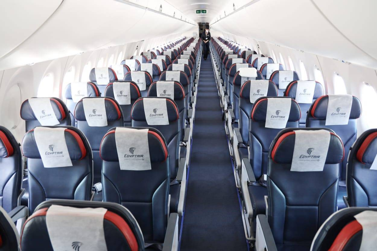 EgyptAir анонсировала запуск семи рейсов в неделю между Москвой и курортами Египта