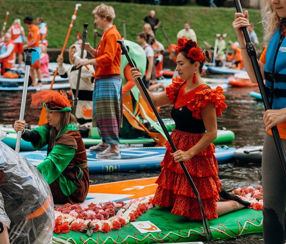 «Фонтанка-SUP» - фестиваль без границ