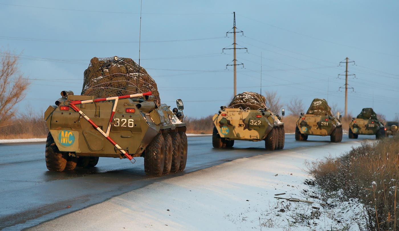«Вероятность начала большой войны и русской масштабной интервенции на Украину пока что низкая»