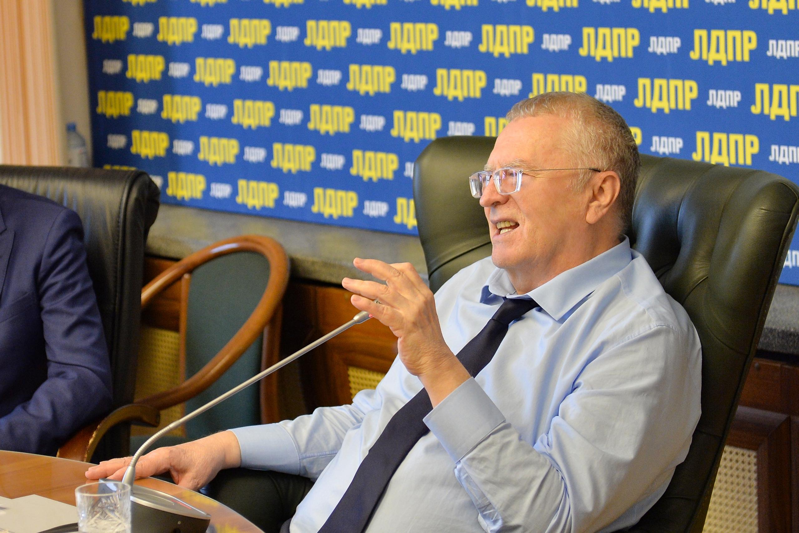 Жириновский вспомнил достижения Фургала в Хабаровском крае