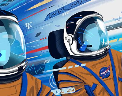 Американцы готовы отправиться в космос на своем корабле, впервые с 2011 года